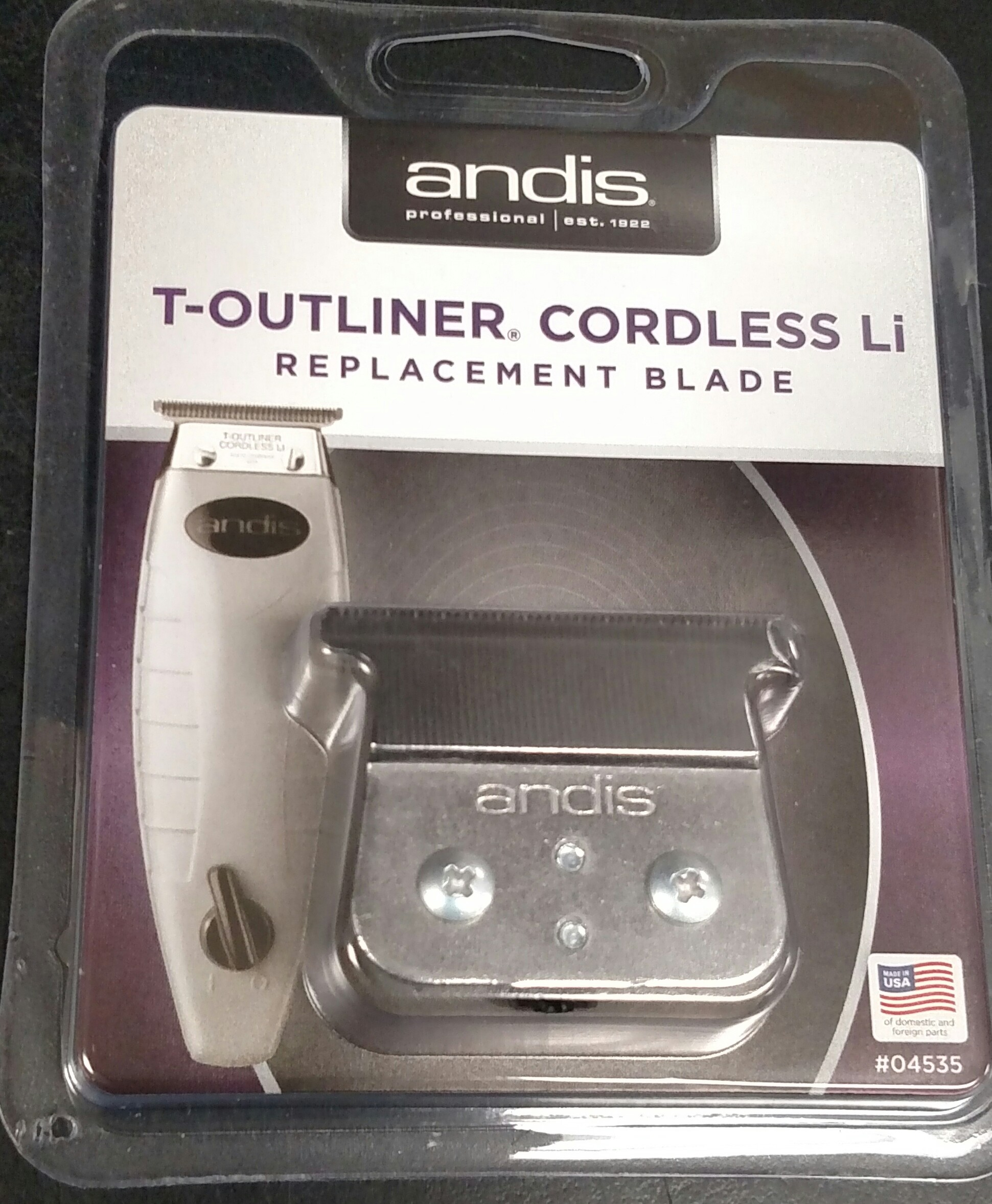 Andis T-Outliner Cordless LI Replacement T-Blade