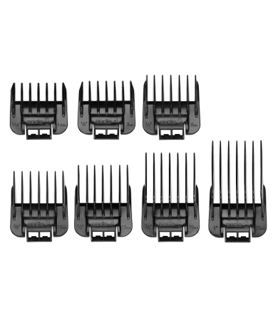 Andis Snap-On Blade Attachment Combs, 7-Comb Set 950