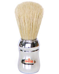 Omega Boar Bristle Shaving Brush Chrome 10048