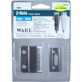 Wahl 2-Hole 1mm-3mm Fade Blade #1006