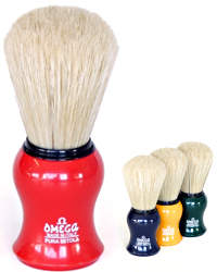 Omega Boar Bristle Shaving Brush Medium 10065