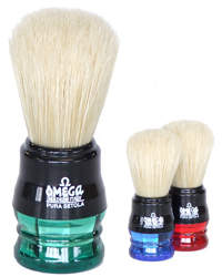 Omega Boar Bristle Shaving Brush Small 10777