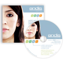 Andis Ladies Mid-Length Contemporary Layered Bob DVD