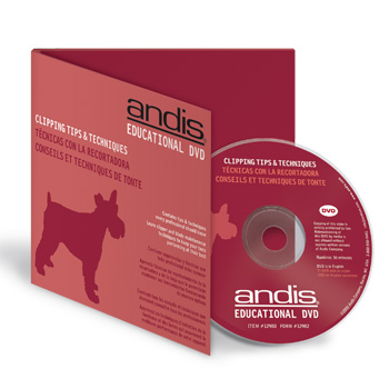 Andis Clipping Tips & Techniques DVD #12980