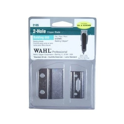 Wahl Sterling 2-Hole Balding 6X0 Blade Item #2105