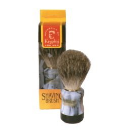 Kingsley Badger Shaving Brush - Marbled #4664