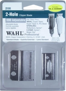 Wahl 2-Hole 000 Adjustable Clipper Fade Blade #2191