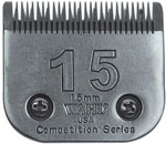 "Wahl Competition Series Size #15 Blade 1.5mm (3/64"") #2357-100"