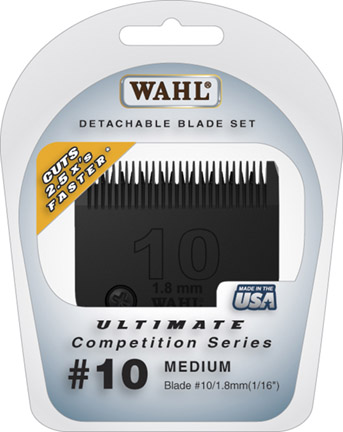 Wahl Ultimate Competition #10 Medium Blade #2358-500