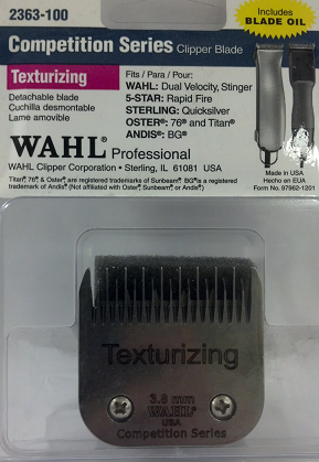Wahl Competition Texturizing Detachable Blade 2363-100