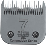 "Wahl Competition Series Blade Size #7ST 4mm (5/32"") #2367-100"