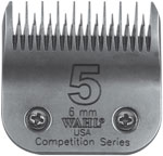 "Wahl Competition Series Blade Size #5 ST 6mm (15/64"") #2371-100"