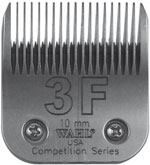 "Wahl Competition Series Blade Size #3F 10mm (25/64"") #2376-100"