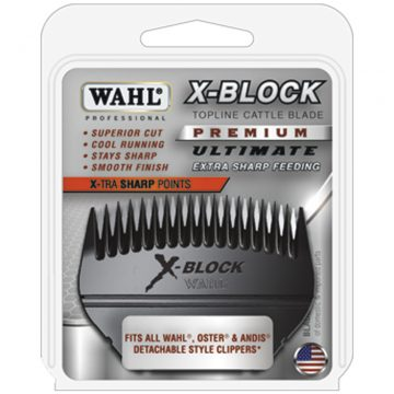 Wahl Ultimate Competition X-Block Topline Cattle Blade 2430-500