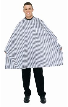 Betty Dain Seersucker Black Striped Barber Cloth #260073