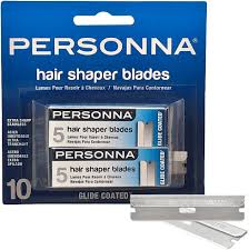 PERSONNA Replacement Hair Shaper Razor Blades 288 10 pack