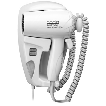 Andis HD-10L Quiet HangUp Multi-Watt Dryer w/ Night Light 30975
