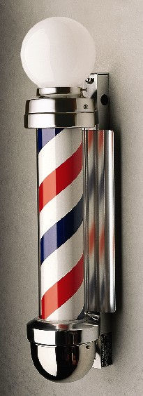 Marvy No. 333 Two-Light Non-Revolving Barber Pole