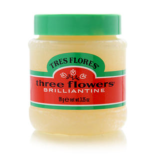 Tres Flores Three Flowers Brilliantine Pomade 3.25oz
