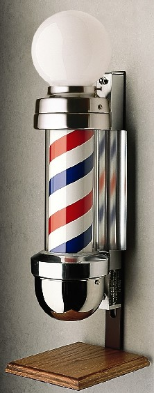 Marvy No. 410/OS Two-Light Barber Pole