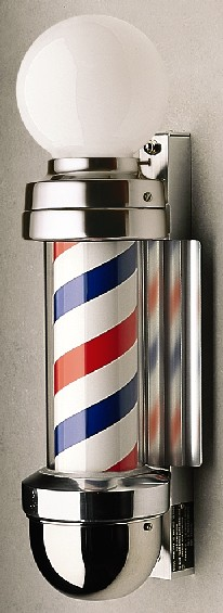 Marvy No. 410 WM Two-Light Barber Pole