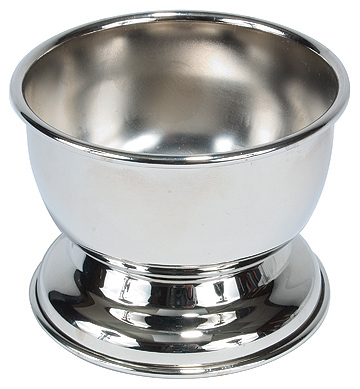 Silver Plated Shave Soap Bowl #4674
