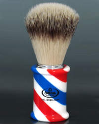 Omega Novelty Giant Shaving Brush- Barber Pole 5991