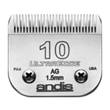 "Andis UltraEdge Size 10 / Leaves hair 1/16"" - 1.5mm #64071"