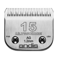 "Andis UltraEdge Size 15/ Leaves hair 3/64"" - 1.2mm #64072"