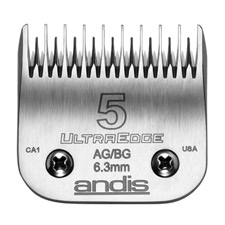 "Andis UltraEdge Size 5 Skip/Leaves hair 1/4"" - 6.3mm #64079"