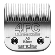 "Andis UltraEdge Size 4FC/ Leaves hair 3/8"" - 9.5mm #64123"