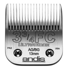 "Andis UltraEdge Size 3-3/4FC / Leaves hair 1/2"" - 13mm #64135"
