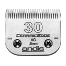"Andis CeramicEdge Size 30/ Leaves hair 1/50"" - 0.5mm #64260"