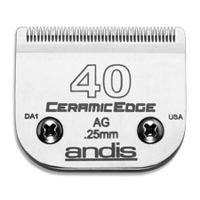 "Andis CeramicEdge Size 40/ Leaves hair 1/100"" - 0.25mm #64265"