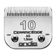 "Andis CeramicEdge Size 10/ Leaves hair 1/16"" - 1.5mm #64315"