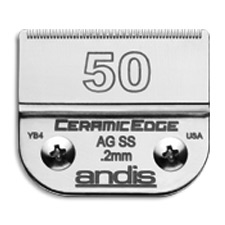 "Andis CeramicEdge Size 50/ Leaves hair 1/125"" - 0.2mm #64355"