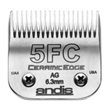 "Andis CeramicEdge Size 5FC/ Leaves hair 1/4"" - 6.3mm #64370"