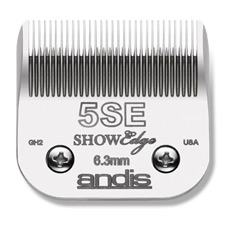 "Andis ShowEdge Blade Size 5SE 6.3mm (1/4"") Item #65595"