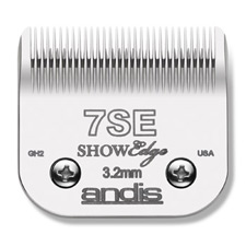 "Andis ShowEdge Blade Size 7SE 2.4mm (3/32"") Item #65605"