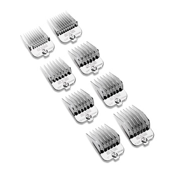Andis Universal Chrome Magnetic Comb Set 8pc #65875
