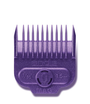 "Andis Nano-Silver Magnetic Comb Size 0 1/16"" 66430"