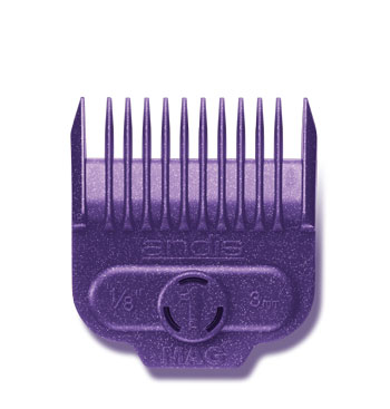 "Andis Nano-Silver Magnetic Comb Size #1 1/8"" 66435"