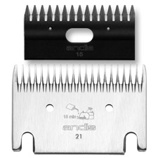 Andis 21-15 General Purpose Llama & Alpaca Blades #70135