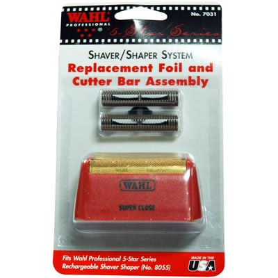 Wahl Burgandy Foil/Cutter Bar Kit for 8061 Shaver #7031-100