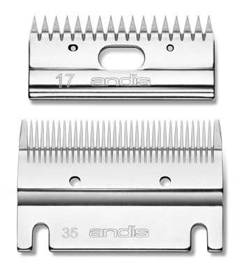Andis 35-17 Large Animal Blade Set Cutter/Comb #70380