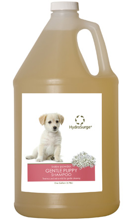 Hydrosurge Gentle Baby Powder Puppy Shampoo Gallon 78499-445