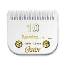 "Oster Lucky No. 9 Cat Blades Size #10 1/16"" #78917-046"