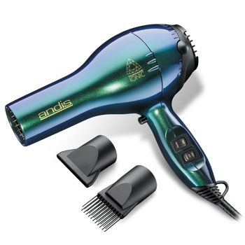 Andis ACM-4 Colorwaves Blue/Green Ionic Dryer #80295