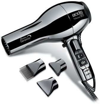 Andis ACM-1 Ceramic/Ionic Black Chrome Dryer #82005