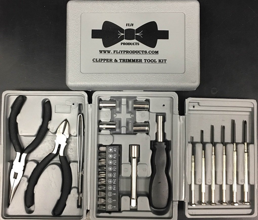 FLiY Products Clipper & Trimmer Tool Kit - 7561